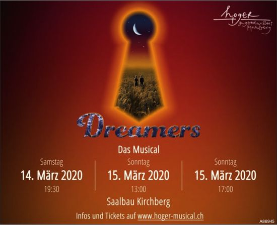 Dreamers, 14./15 März, Hoger Musical