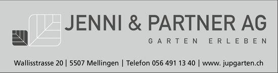 Garten erleben - Jenni & Partner AG