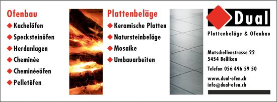 Dual Plattenbeläge & Ofenbau