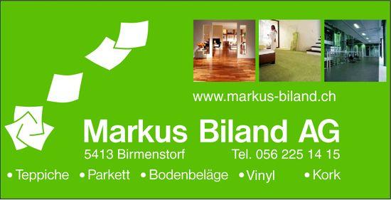 Markus Biland AG, Teppiche / Parkett