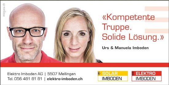 Elektro Imboden AG, Urs & Manuela Imboden
