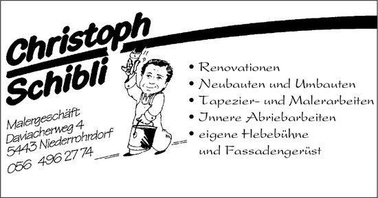 Malergeschäft Christoph Schibli