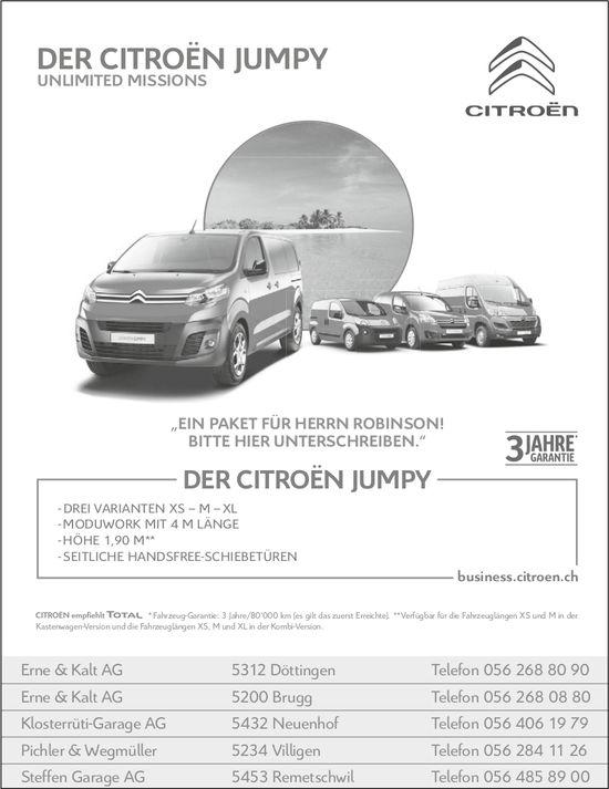 Der Citroën Jumpy - unlimited missions