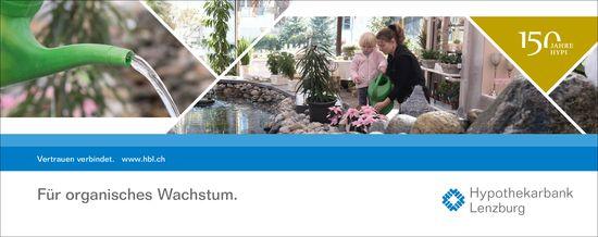 Für organisches Wachstum, Hypothekarbank Lenzburg
