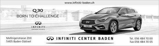 Q30 - Born to Challenge, Infiniti Center Baden