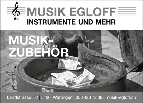Musik-Zubehör, Musik Egloff