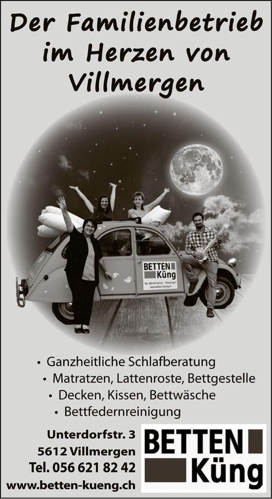 BETTEN Küng - Der Familienbetrieb im Herzen von Villmergen