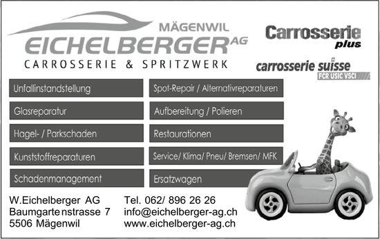Eichelberger AG Mägenwil - Carrosserie & Spritzwerk