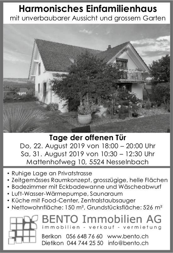 Harmonisches Einfamilienhaus in Nesselnbach - Tage der offenen Tür: 22. + 31. August