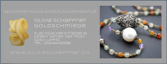 Olivia Schaffner Goldschmiede - Neuanfertigung, Änderung, Reparatur