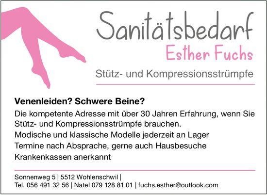 Danilälsbedarf Esther Fuchs - Stütz- und Kompressionsstrümpfe