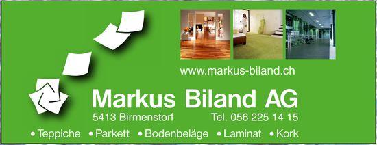 Markus Biland AG - Teppiche, Parkett, Bodenbeläge, Laminat eKork
