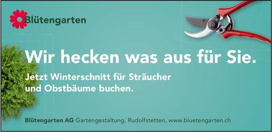 Blütengarten AG - Wir hecken was aus für Sie.