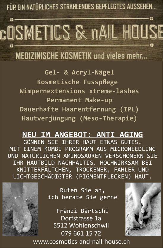 Cosmetics & Nail House - MEDIZINISCHE KOSMETIK und vieles mehr...