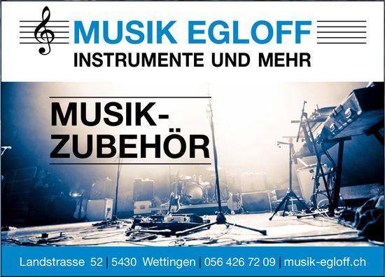 MUSIK EGLOFF, INSTRUMENTE UND MEHR - MUSIK-ZUBEHÖR