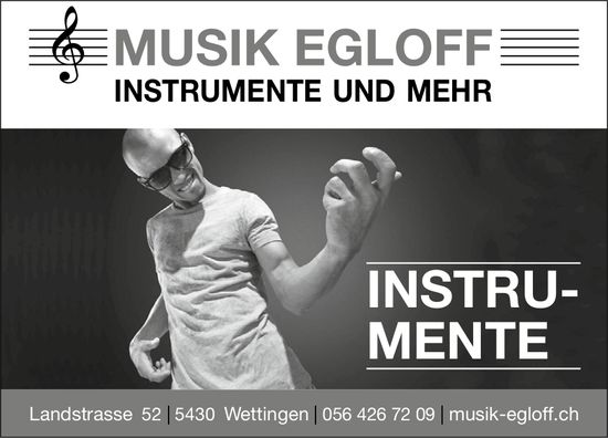 MUSIK EGLOFF - INSTRUMENTE UND MEHR