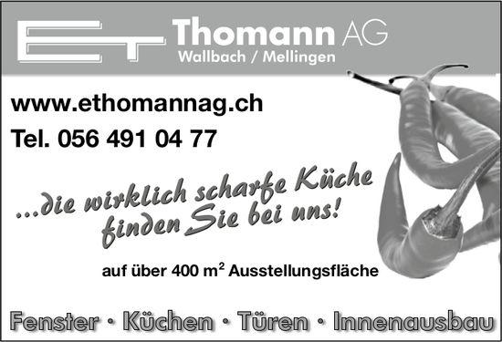 E. Thomann AG - ... die wirklich scharfe Küche finden Sie bei uns!