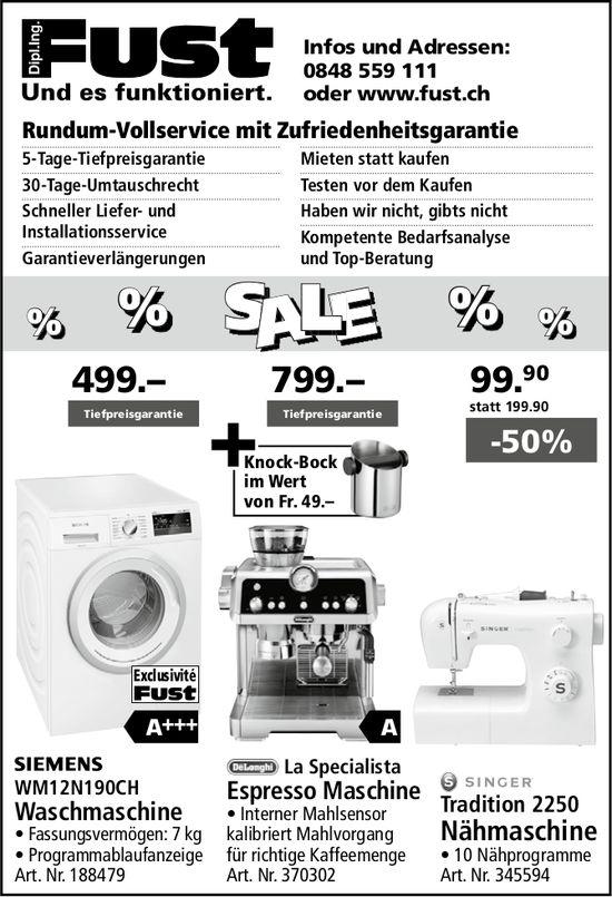 Fust - % SALE %
