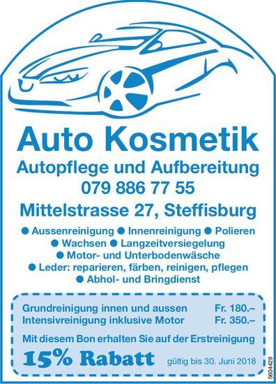 Auto Kosmetik, Autopflege und Aufbereitung - 15% Rabatt