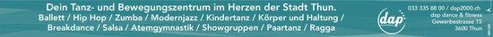 Dap2000 - Dein Tanz- und Bewegungszentrum im Herzen der Stadt Thun.