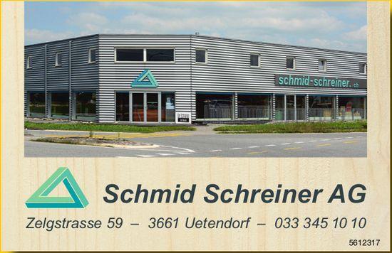 Schmid Schreiner AG, Uetendorf