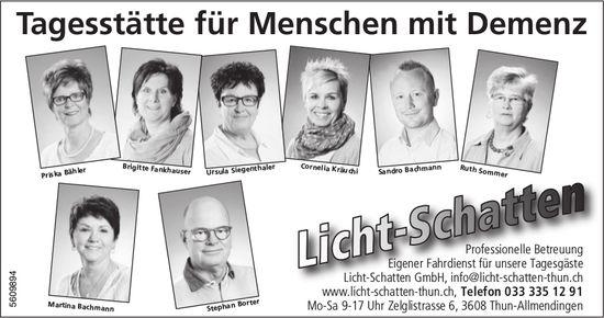 Light-Schatten GmbH - Tagesstätte für Menschen mit Demenz