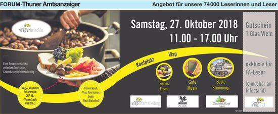 Forum-Thuner Amtsanzeiger - Visper Brisolée am 27. Oktober