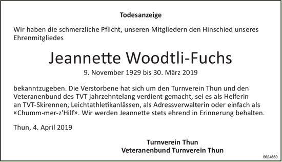 WoodtIi-Fuchs Jeannette, März 2019 / TA