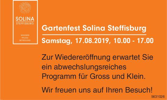 Gartenfest Solina Steffisburg am 17. August