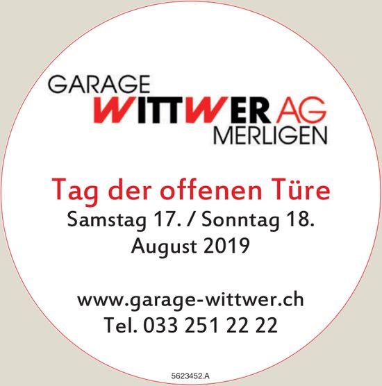 Garage Wittwer AG, Merligen - Tag der offenen Türe, 17./18. August