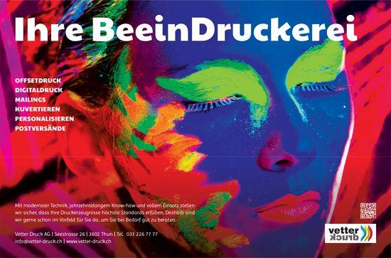 Vetter Druck AG - Ihr BeeinDruckerei