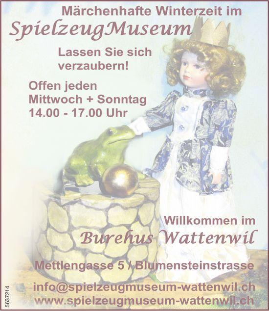 Märchenhafte Winterzeit im Spielzeug Museum: Lassen Siesich verzaubern!