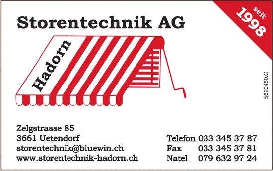 Hadorn Storentechnik AG, Uetendorf