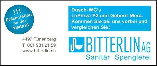 Bitterlin AG, Sanitär, Spenglerei, Rünenberg