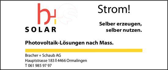 Bracher + Schaub AG, Ormalingen