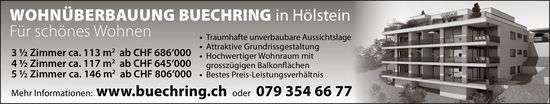 3.5- bis 5.5-Zimmer-Wohnungen, Hölstein