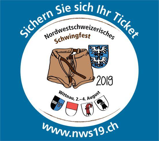 Nordwestschweizerisches Schwingfest, 2. bis 4. August, Wittnau