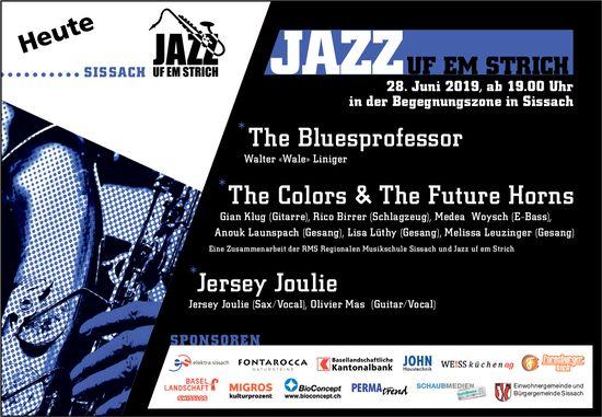 Jazz uf em Strich in Sissach am 28. Juni