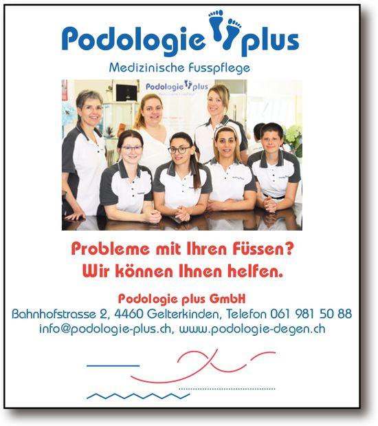 Podologie plus: Medizinische Fusspflege