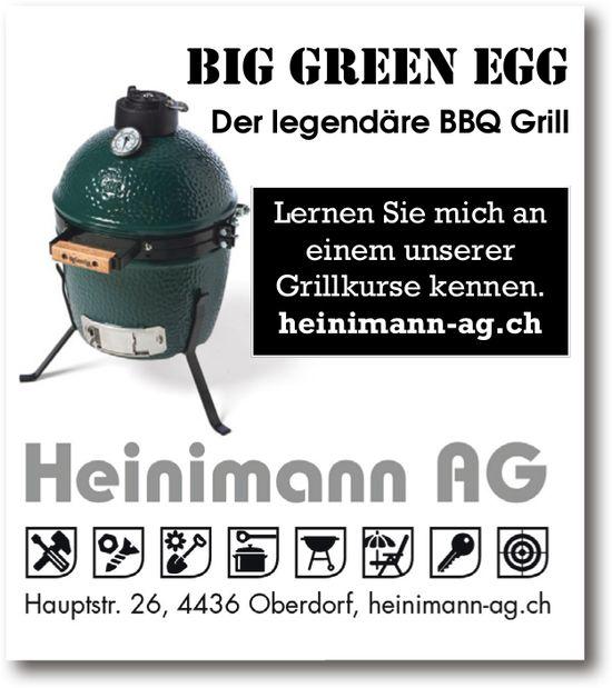 Big Green Egg - Der legendäre BBQ GRill