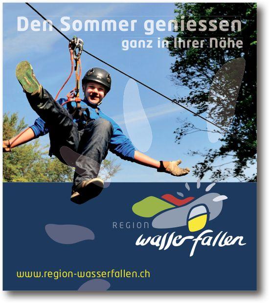 Den Sommer geniessen ganz in Ihrer Nähe: Region Wasserfallen