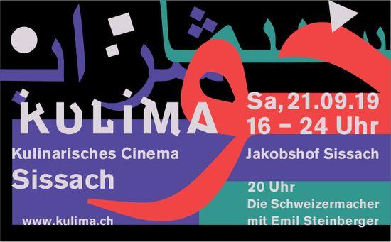 Kulima, Kulinarisches Cinema, 21. September, Jakobshof Sissach