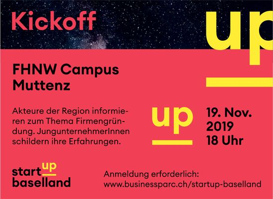 Kickoff FHNW Campus Muttenz am 19. November