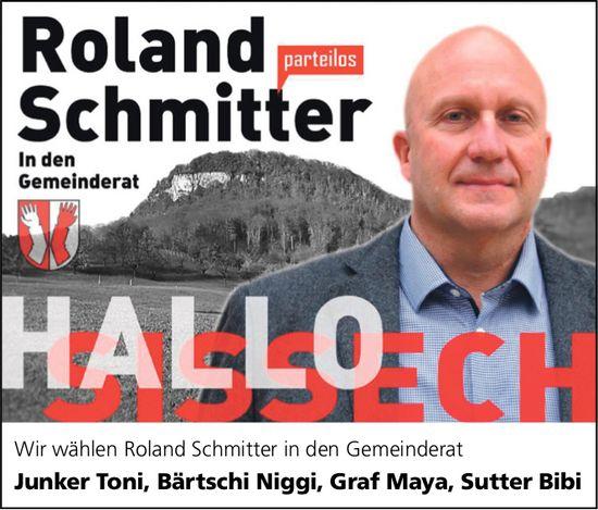 Roland Schmitter in den Gemeinderat, Sissach