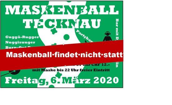 Maskenball Tecknau am 6. März