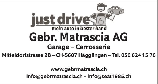 Garage - Carrosserie Gebr. Matrascia AG