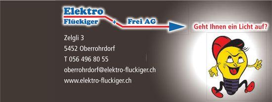 Elektro Flückiger + Frei AG - Geht Ihnen ein Licht auf?