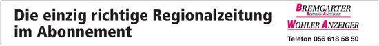 BBA/WA - Die einzig richtige Regionalzeitung im Abonnement