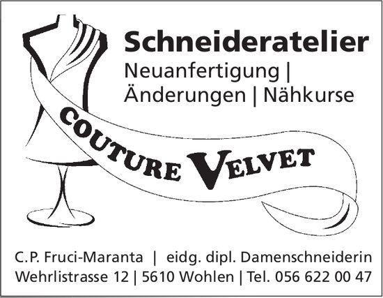 Couture Velvet - Schneideratelier