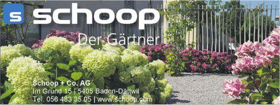 Schoop + Co. AG - Der Gärtner